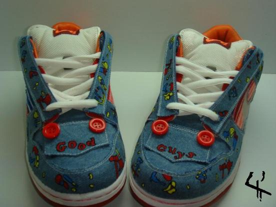 pretty nice c7754 e608f sale good guys doll nike sb dunk custom sneaker 11 take our time ddfe7 0ed20